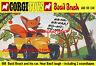 Corgi Toys 808 Basil Brush Car A3 Size Poster Leaflet Shop Display Sign