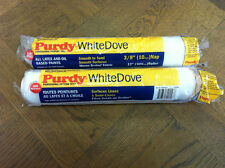 "2 x 12"" Purdy White Dove Medium Pile Paint Roller Sleeves 3/8"" Nap"