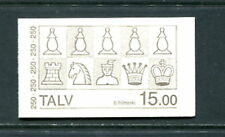 Faroe Islands #94A  chess chessmen  1983 complete booklet  MNH  D668