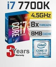 Intel Core i7-7700K Kaby Lake Quad-Core 4.2GHz LGA1151 7th Gen Desktop Processo
