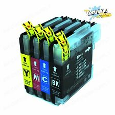 4PK LC61 LC65 Ink Cartridges For Brother MFC-295CN MFC-385CW MFC-490CW MFC-290C