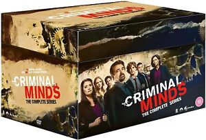 CRIMINAL MINDS COMPLETE SERIES 1-15 DVD BOXSET 73 DISCS REGION 4 NEW IN STOCK!