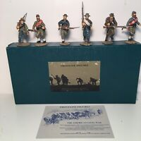 Frontline Figures American Civil War Confederate Infantry Charging #A.C.I.4.