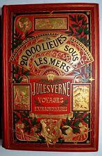 Vingt Mille Lieues Sous Les Mers Jules Verne Hetzel  dernier tirage inconnu