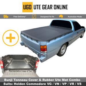Holden Commodore VG VN VP VR VS Ute Tonneau Cover & Rubber Ute Mat Combo
