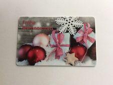 Geschenkkarte Ringeltaube Frohe Weihnachten