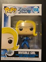 Funko Pop! Heroes: Marvel Comics - Invisible Girl Vinyl Figure