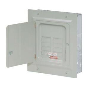 Eaton 125-Amp 6-Space 12-Circuit Indoor Main Lug Load Breaker Electrical Panel