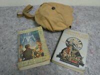 Lot of WWII Era Boy Scout Items-Mess Kit, Handbook, Patrol Leader +