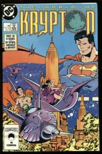 World of Krypton #1 of 4 DC Comics December Dec 1987 (VFNM)