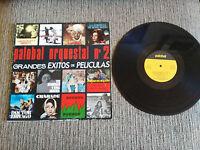 "GRANDES TEMAS DE PELICULAS PALOBAL CHARADE ZORBA SOUNDTRACK OST LP VINYL 12"""