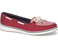 Grasshoppers Windham Loafers Slip On Comfort Shoe Stripe/Red Pick A Size Medium