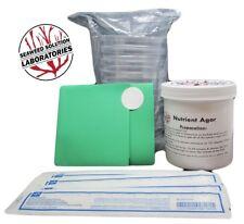 Nutrient Agar Kit 350ml Sterilzed Nutrient Agar10 100mm Petri Dishesswabs