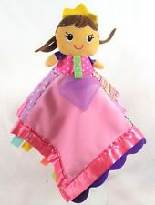 infantino Princess Doll Lovey Security Blanket Teether  Plush Texture Feel