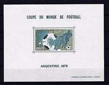 MONACO 1978 SOCCER, FOOTBALL RARE Sheet OF SPECIAL ISSUE MNH ** Mi € 400