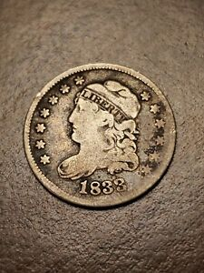 1833 Capped Bust Silver Half Dime