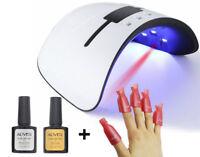 UV LED Nail Lamp Gel Nail Polish Dryer UV Light Fast Curing w/ Auto-Timer Sensor