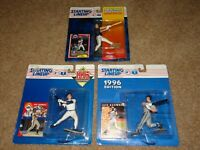 JEFF BAGWELL Starting Lineup ASTROS 1994,1995,1996 Action Figure LOT Kenner NEW