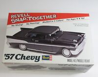 Vintage Revell Model Kit SnapTogether '57 Chevy ASSEMBLED  Box and Instructions