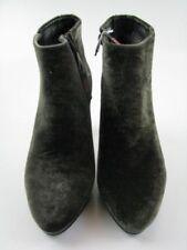 Scarpe da donna verde con tacco alto (8-11 cm) con cerniera