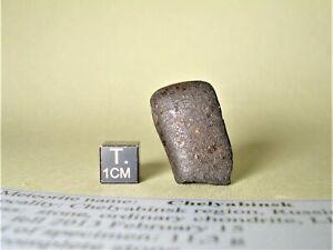 meteorite Chelyabinsk, chondrite LL5, fresh stone 11,3 g, recent fall, Russia