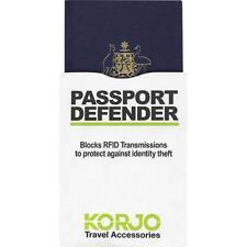 KORJO Passport RFID Defender --Protect your passport from identity theft RFIDPP1