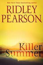 *SIGNED* KILLER SUMMER by RIDLEY PEARSON - 2009 1ST ED VF/VF - WALT FLEMING #3