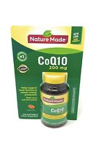 Nature Made CoQ10 200 mg - 140 Softgels - Dietary Supplement Exp 04/22