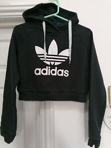 Adidas Hoodie Size 8 Black