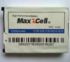 Maxcell 3.6v 1500mah Li-ion for siemens c35/m35/s35