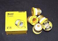 3-PK W-25 FAST ACTING Plug Fuse BUSS Bussmann NEW Fuses 125Vac NEW Screw In
