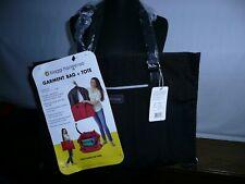 Biaggi Hangeroo Garment Bag Satchel zipsak Black As Seen on Shark Tank