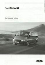 Lista de precios Ford Transit recreativas modelos 5.8.02 2002 Tourneo EUROLINE Pepita