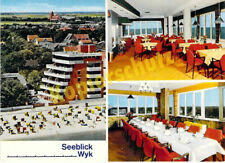 """AK Wyk auf Föhr Cafe Restaurant """"Seeblick"""" Kurpromenade Inneneinrichtung ungelau"""