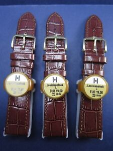 Hirsch reduced price size L leather straps different models and lug sizes