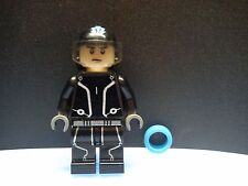 Custom Lego Tron Legacy Sam Flynn Minifig with Helmet & Light Disc
