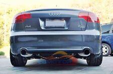 S Style Real Carbon Fiber Rear Lip Diffuser For Audi A4 S4 B7 Model a062