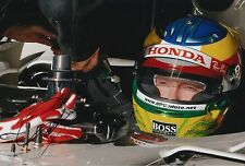 Mike Conway Hand Signed Honda F1 12x8 Photo 4.