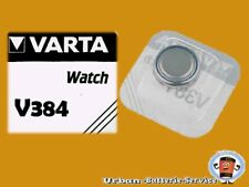 3 x Varta V384 SR41W SR41 Primary Silver Oxide Button Cell Watch Batteries
