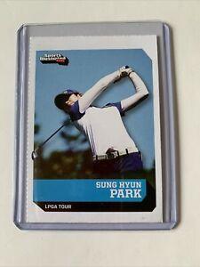 SUNG HYUN PARK SPORTS ILLUSTRATED SI FOR KIDS CARD RC LPGA TOUR GOLF #709