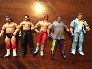 WWE Jakks Pacific Action Figure Lot of 5 Vintage (Lot K)