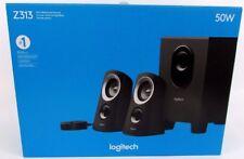 Z313 Logitech 50 Watts Computer Speaker System with Subwoofer Black