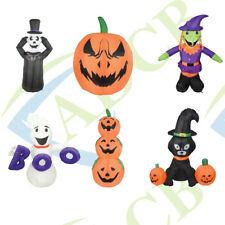 Decorative Inflatable Halloween Decoration garden figures Ghost Witch Pumpkins