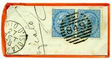 ITALIA - Regno - 1878 - Da Chignolo d'Isola - Effigie di V. Emanuele II. 10 c.