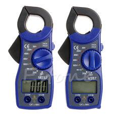 LCD Digital Voltmeter Ammeter Ohmmeter Multimeter Volt AC DC Tester Clamp Meter