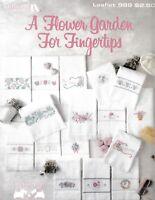 A Flower Garden For Fingertips Cross Stitch | Leisure Arts 989