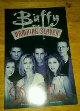 BUFFY THE VAMPIRE SLAYER : THE DUST WALTZ TPB 1998 trade paperback gn tv show