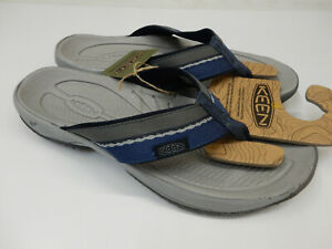 Keen Mens Kona Flip Midnight Navy Steel Grey 13