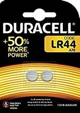 Duracell LR44 (A76) - Pack of 2 Batteries. [still in blister pack]