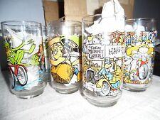 Vintage McDonald's Great Muppet Caper Glasses Set + Bonus Kermit Glass NICE